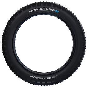 "SCHWALBE Jumbo Jim Super Ground Evolution Folding Tyre 26x4.40"" TLE E-25 Addix Speedgrip, czarny"